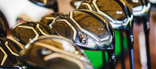 les clubs de golf
