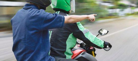 Motos-taxis en France