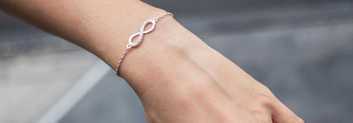 Bracelet personnalisé en argent